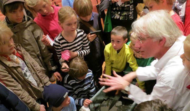 Kinderakademie Görlitz Vorlesung Kinder Herr Schaal