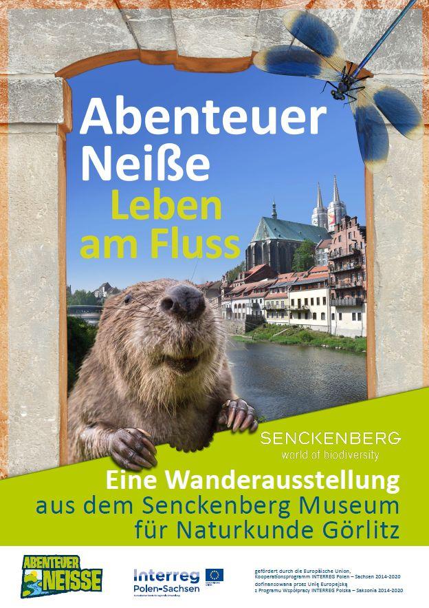 Plakat Abenteuer Neiße deutsch