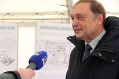 Pressefragen an Prof. Dr. Willi Xylander bzgl. des Neubaus für das Senckenberg Museum Görlitz